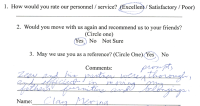 Customer review 6