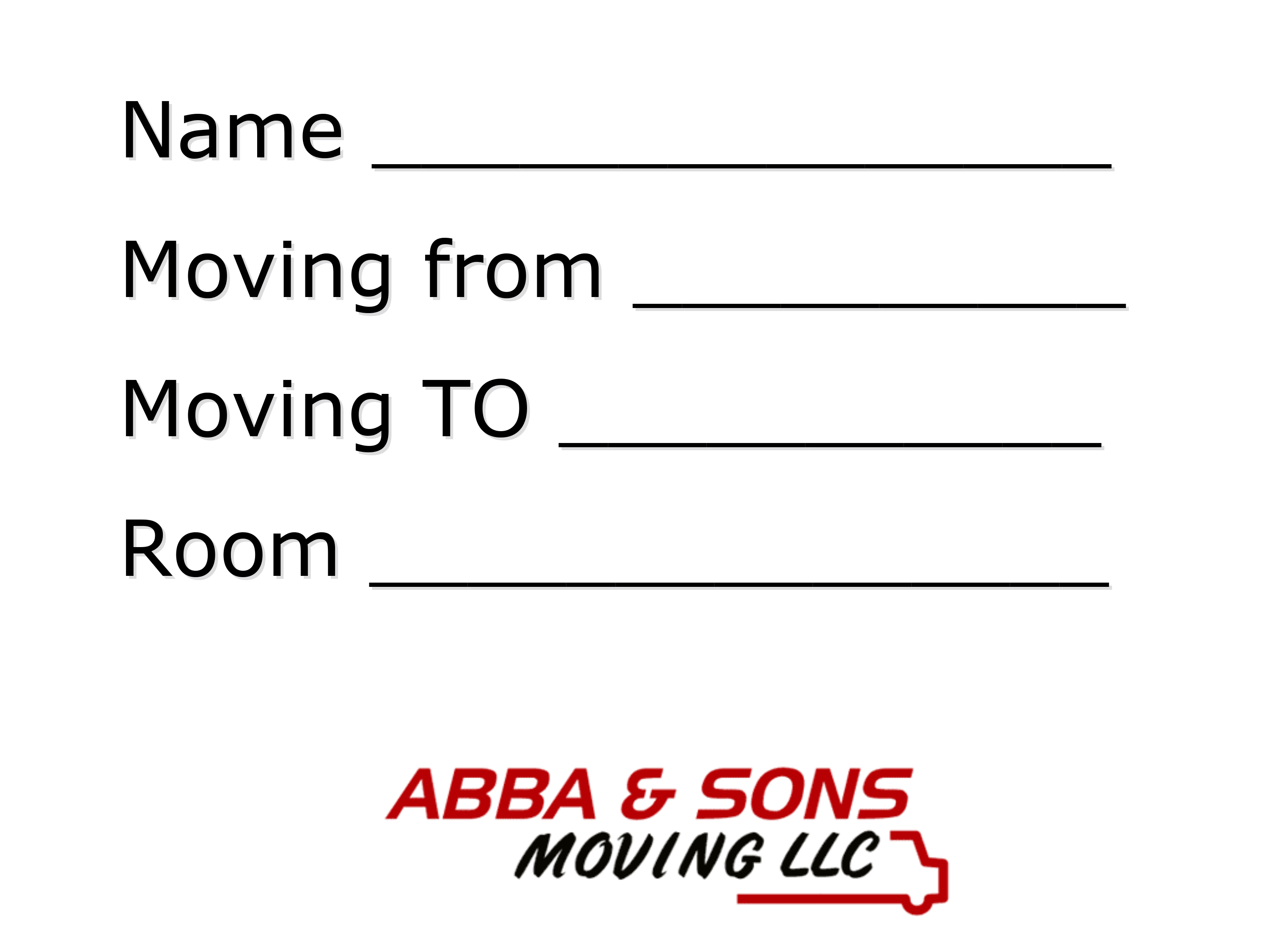 moving tips abba and sons moving llc tuscon az
